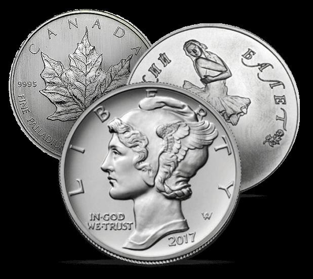 Монеты из палладия 1