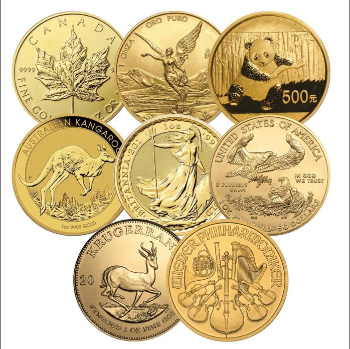 инвестиционные монеты мира