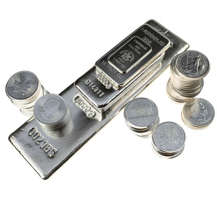 продать серебро