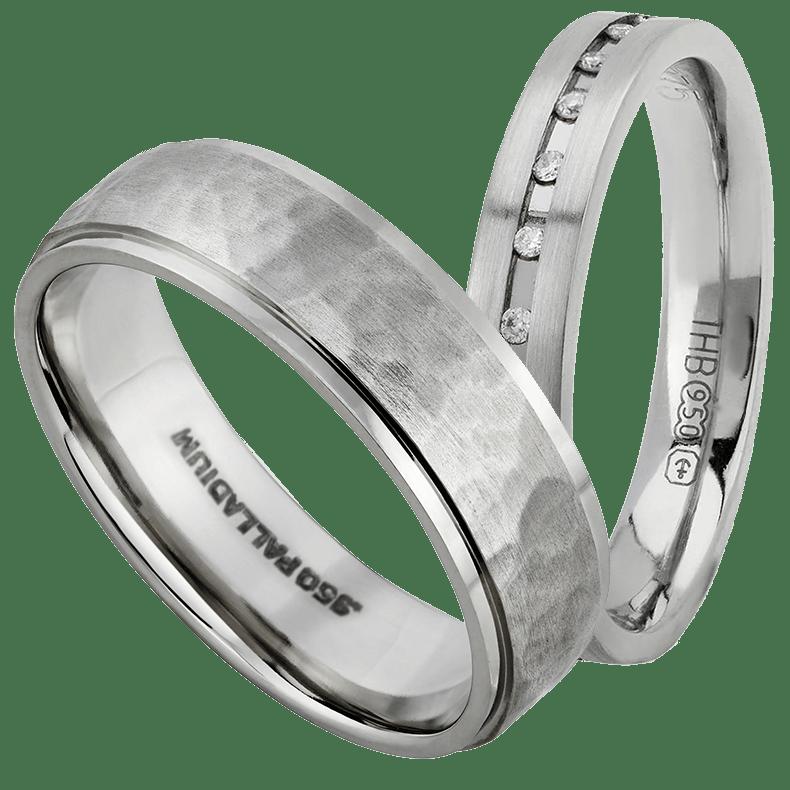 Обручальные кольца: украшения из палладия