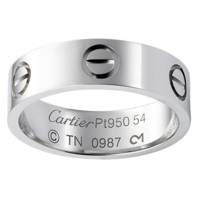 Платиновое кольцо Cartier