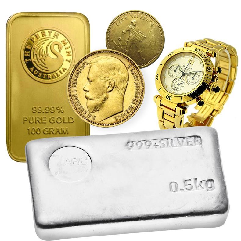 скупка в днепре золота, серебра, палладия и платины