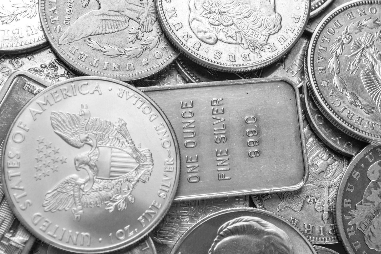 цена серебра