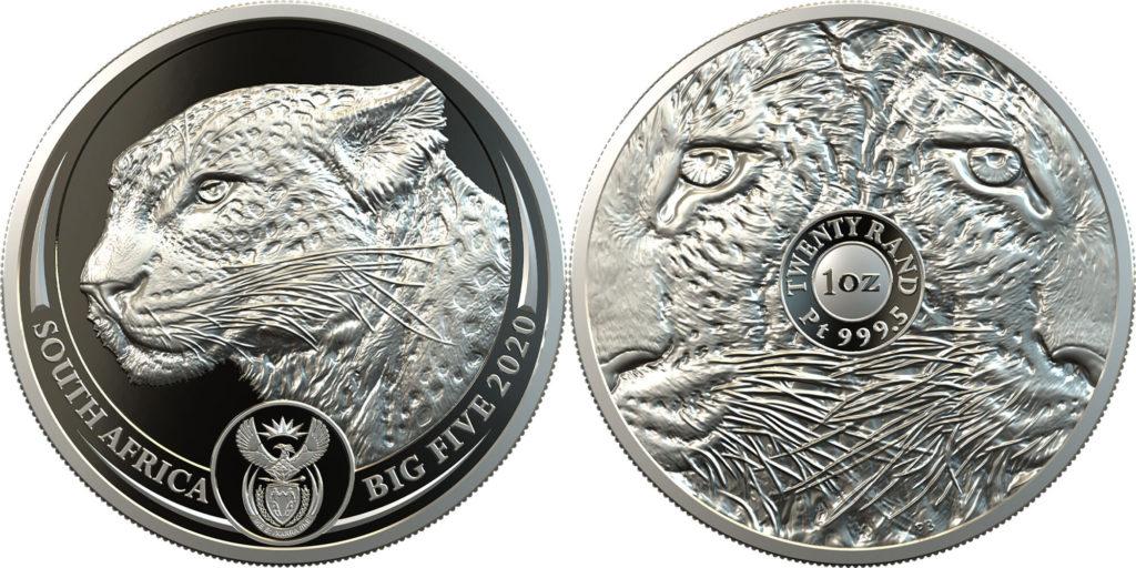 платиновая монета ЮАР